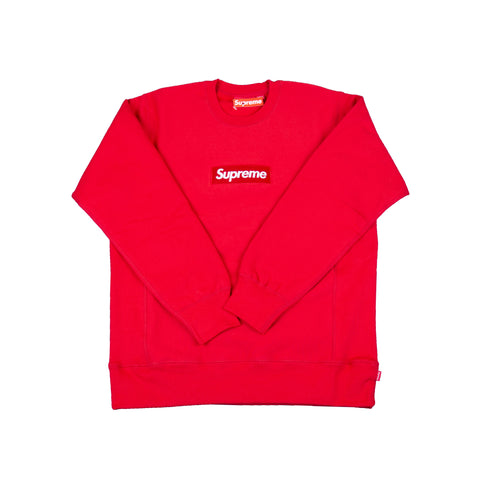 Supreme Red Box Logo Crew