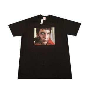 Supreme Black Scarface Shower Tee