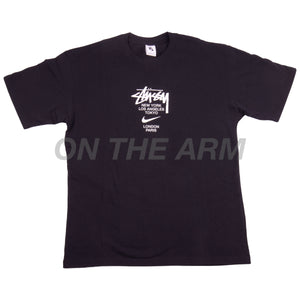 Stussy Black Nike International Tee