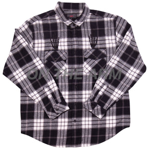 Supreme Black Hysteric Glamour Flannel