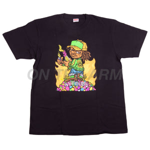 Supreme Black Molotov Kid Tee
