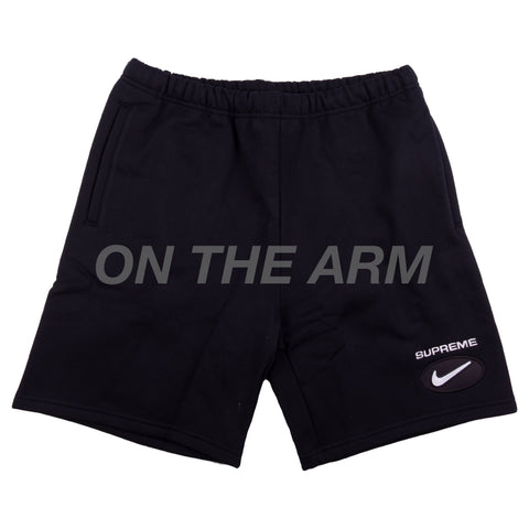 Supreme Black Nike Jewel Shorts