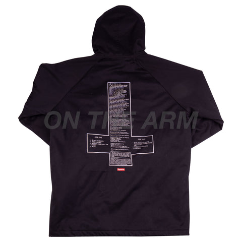 Supreme Black Sabbath Hooded Parka USED