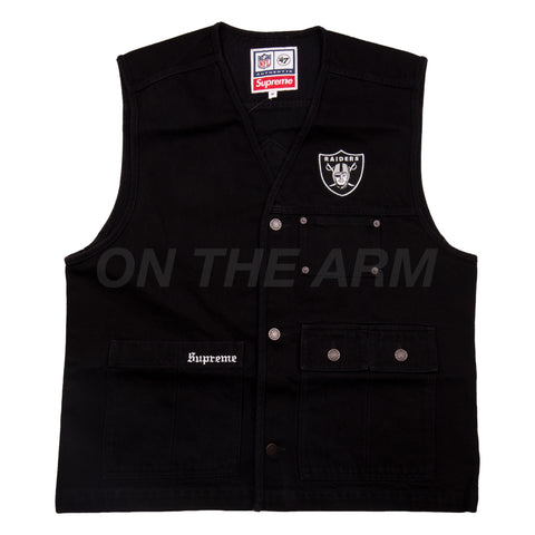 Supreme Black '47 Raiders Vest