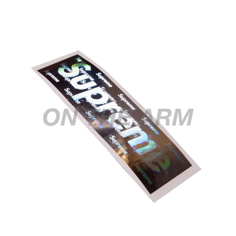 Supreme Holographic Box Logo Sticker