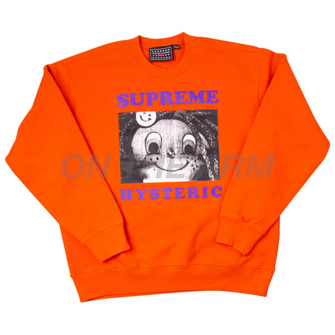 Supreme Orange Hysteric Glamour Crew