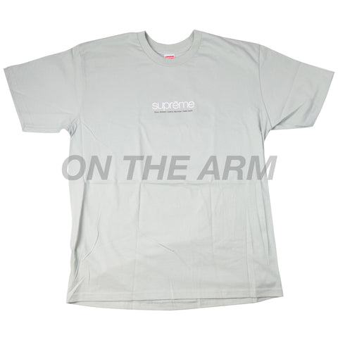 Supreme Pale Aqua Five Boroughs Tee
