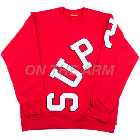 Supreme Red Big Arc Crew