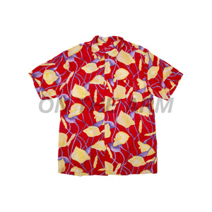 Supreme Red Lily Rayon Shirt