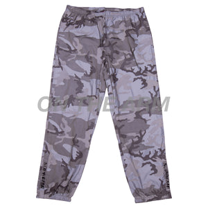 Supreme Snow Camo Reflective Pants USED