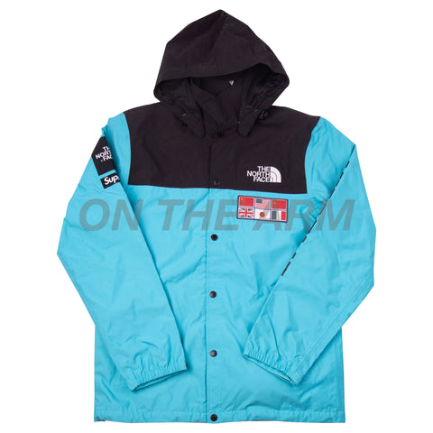 Supreme Teal TNF Expedition Jacket