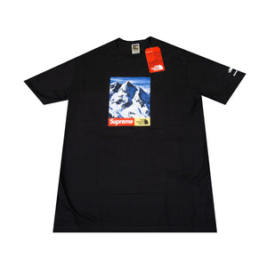 Supreme Black TNF Mountain Tee