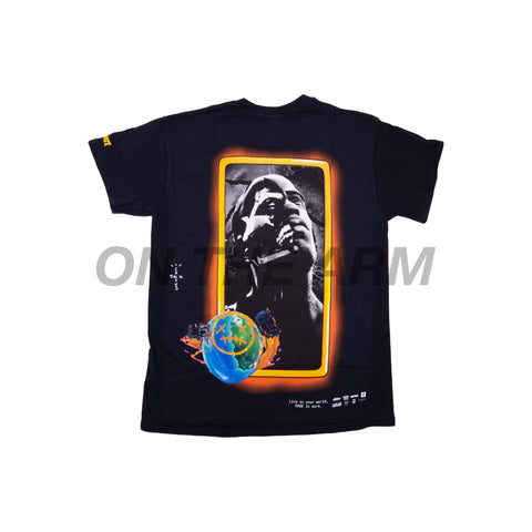 Travis Scott Black Astro Portrait Tee
