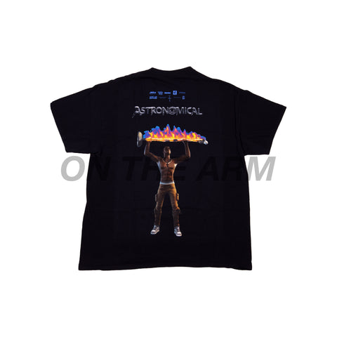 Travis Scott Black Astro Rage Tee