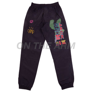 Travis Scott Black McDonalds All American Nylon Pants