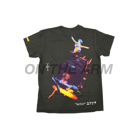 Travis Scott Green Astro Cyclone Tee