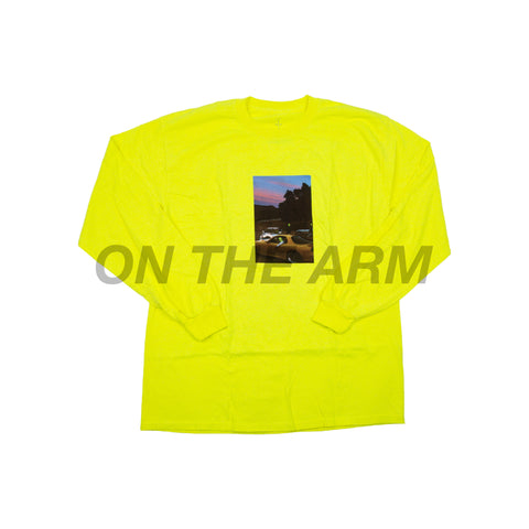 Travis Scott Safety Green JACKBOYS L/S