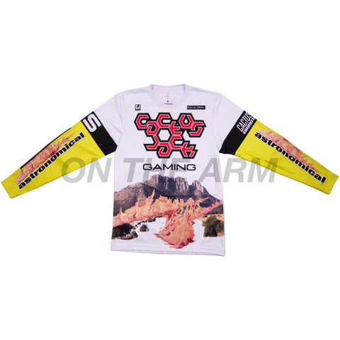 Travis Scott White Cactus Jack Gaming Jersey