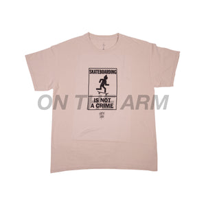 Travis Scott Tan Not A Crime Tee