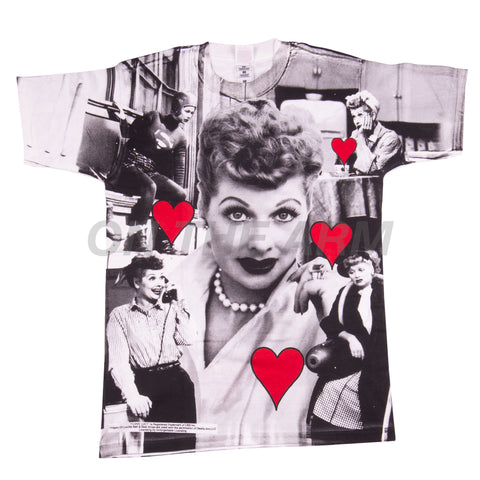 Vintage All Over Print I Love Lucy Tee