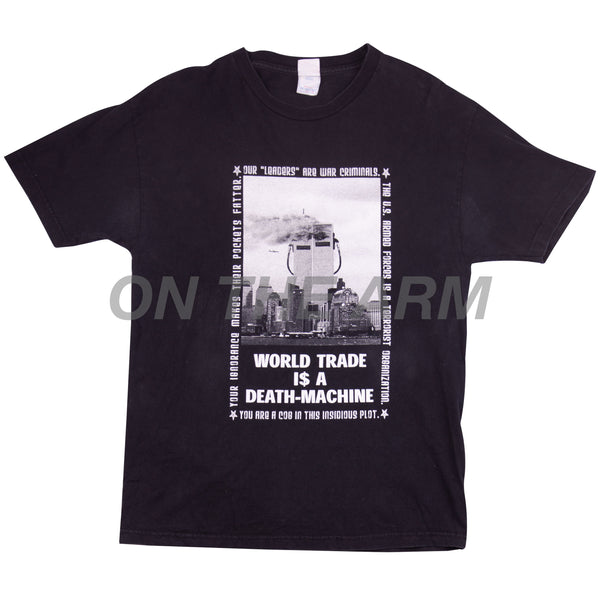 Vintage Black World Trade Tee