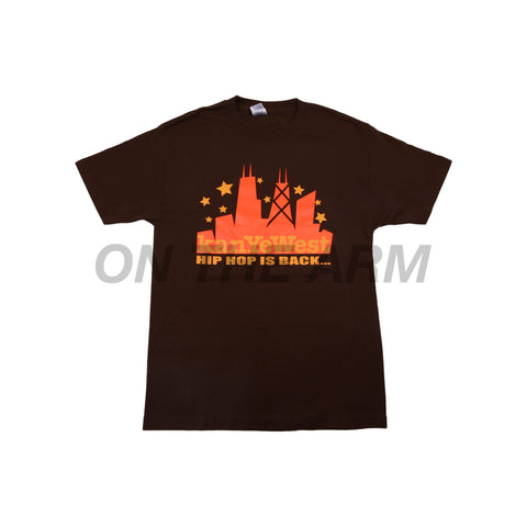 Vintage Brown Kanye West Skyline Tee