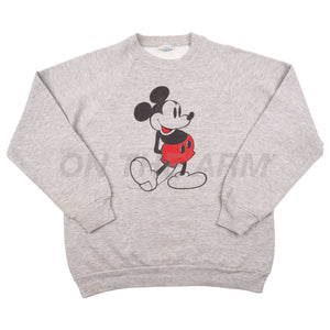 Vintage Grey Mickey Mouse Crew