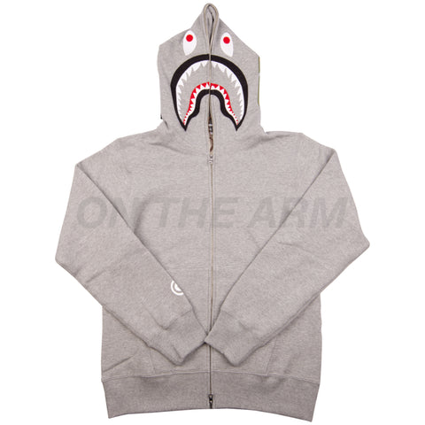 Bape Grey Shark Full Zip