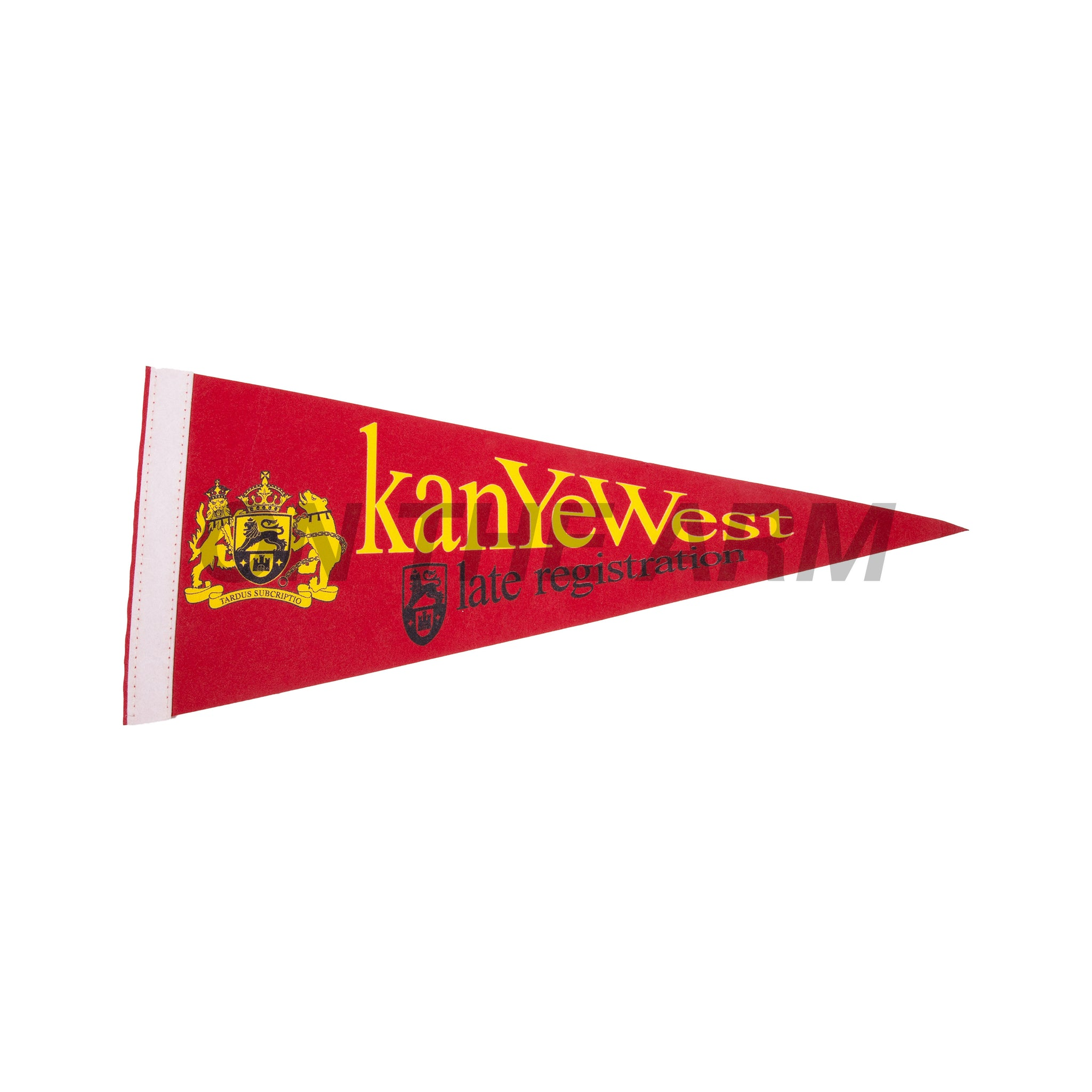 Vintage Kanye West Late Registration Banner