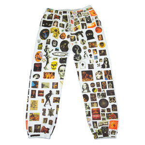 Supreme White Thrills Sweats