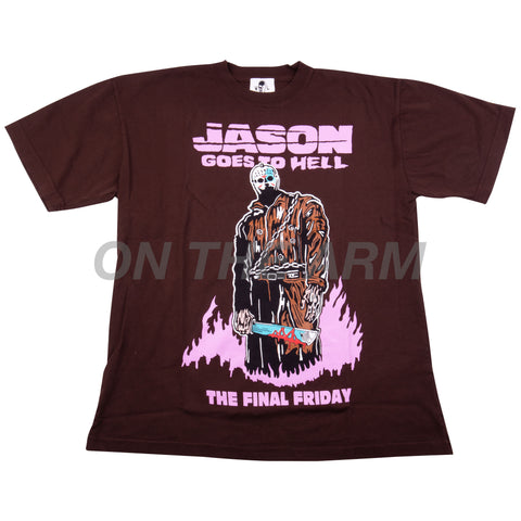 Warren Lotas Brown Jason Goes To Hell Tee