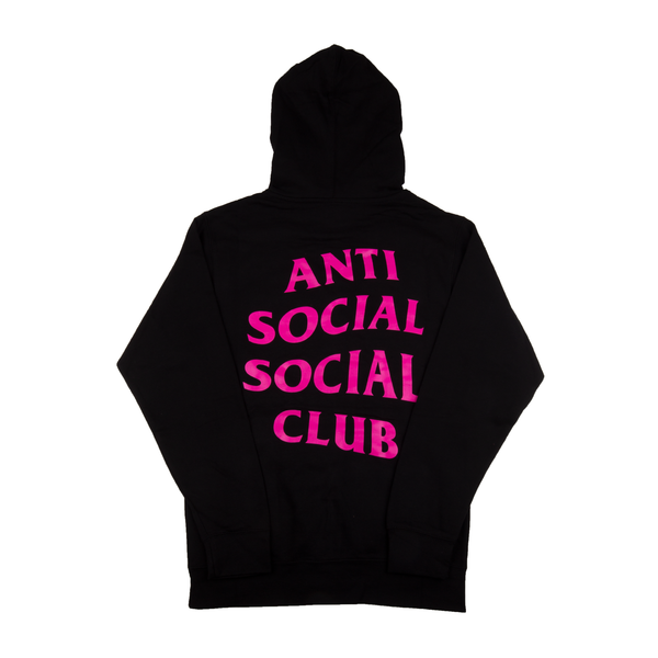 Anti Social Social Club Black Meanings Hoodie