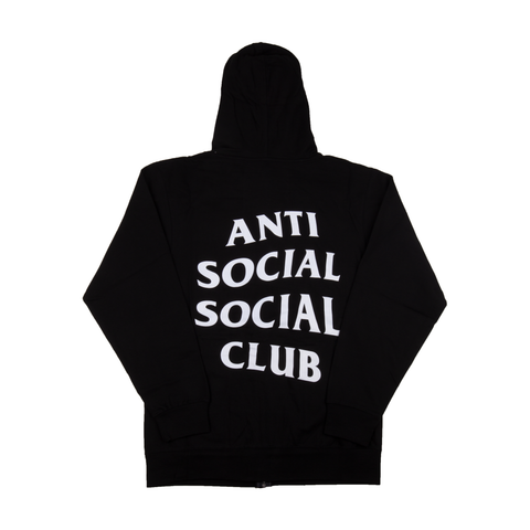 Anti Social Social Club Black Mind Games Hoodie