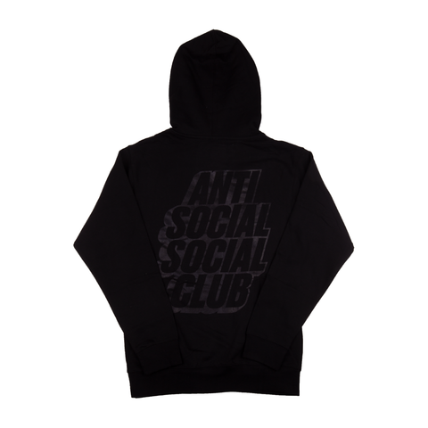 Anti Social Social Club Black Pack Hoodie