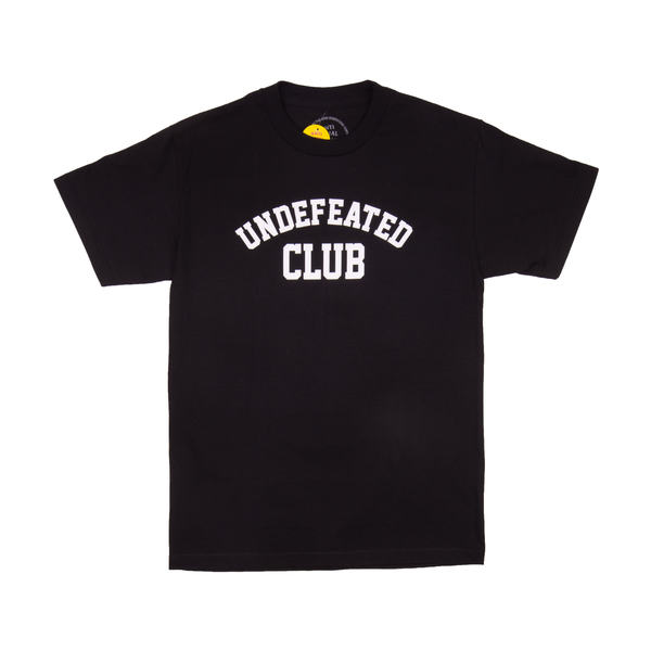 ASSC x Undefeated Black Tee