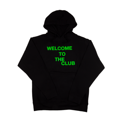 Anti Social Social Club Black Welcome To The Club Hoodie