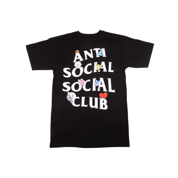 Anti Social Social Club Black BT21 Tee