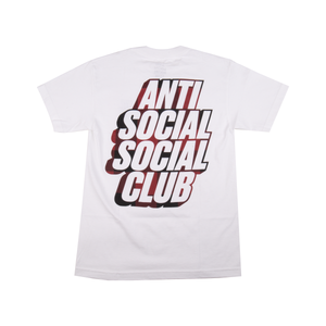 Anti Social Social Club Blocked Red Plaid Tee