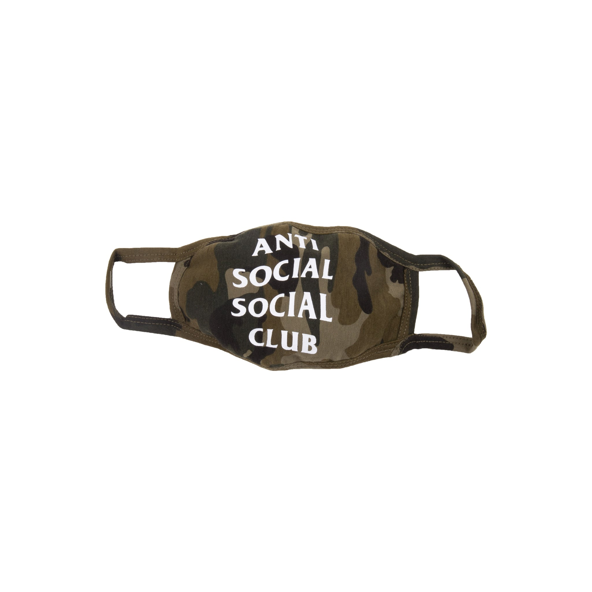 Anti Social Social Club Camo Mask
