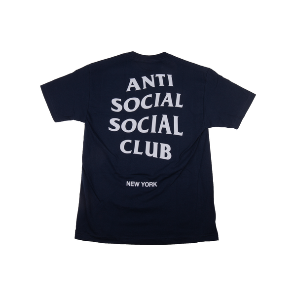 Anti Social Social Club Navy NYC Tee