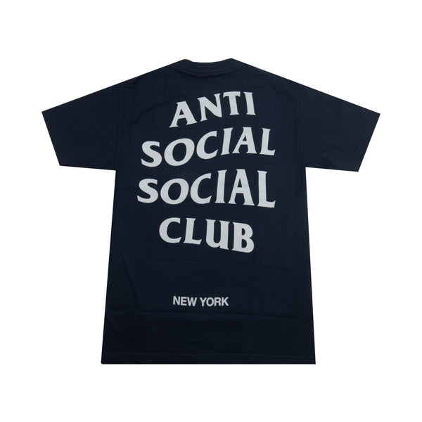 Anti Social Social Club Navy NY Tee