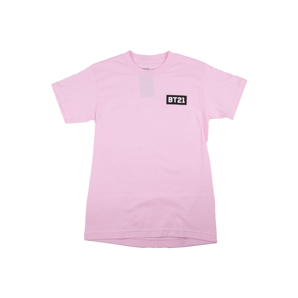 Anti Social Social Club Pink BT21 Tee