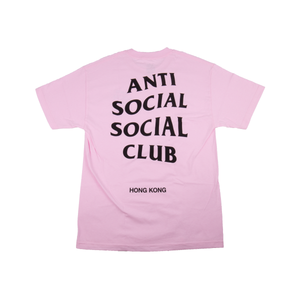 Anti Social Social Club Pink Hong Kong Tee