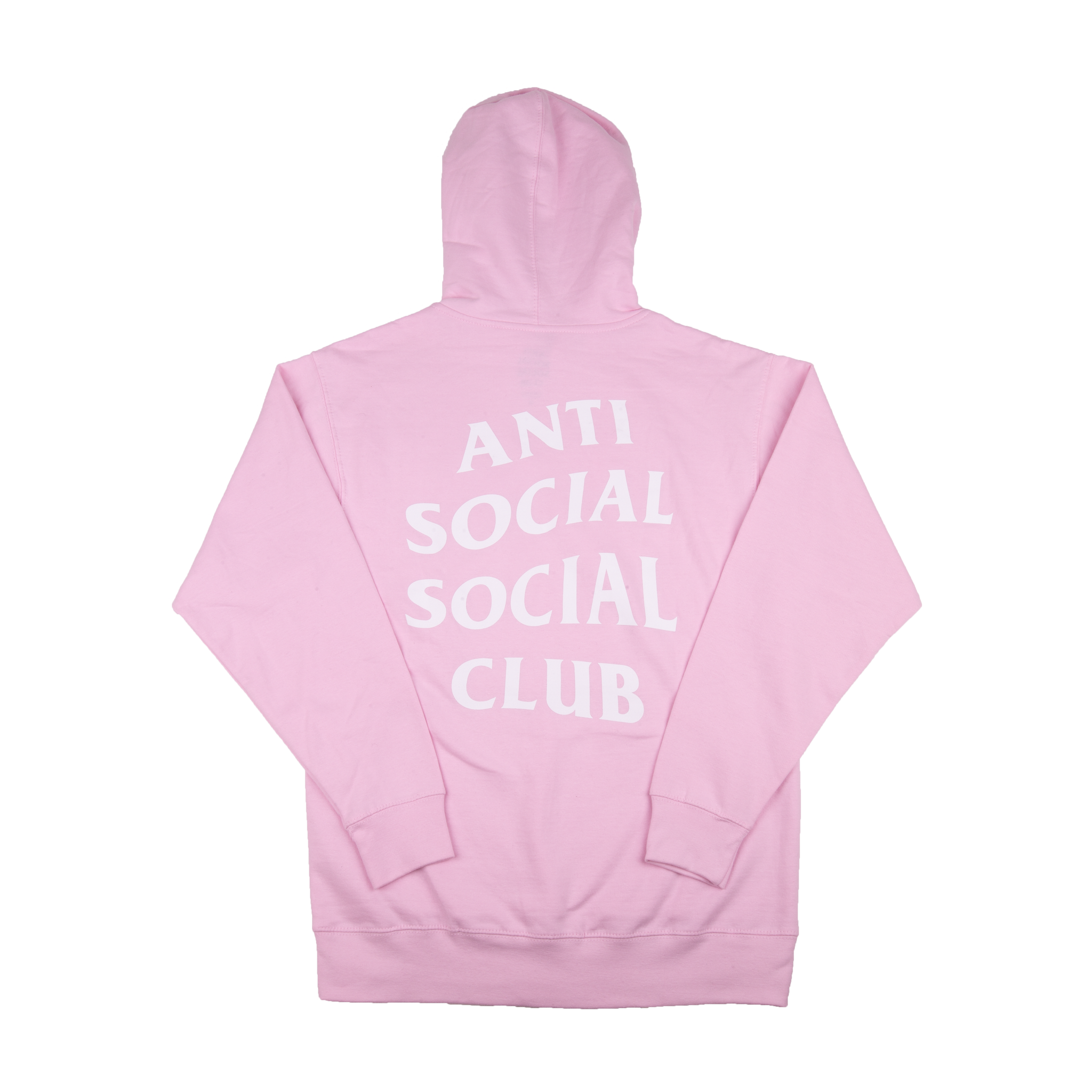 Anti Social Social Club Pink Know You Better Zip