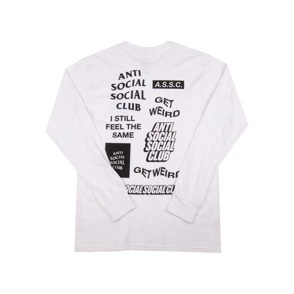 Anti Social Social Club White Bukake L/S