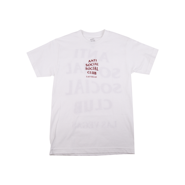 Anti Social Social Club White Las Vegas Tee