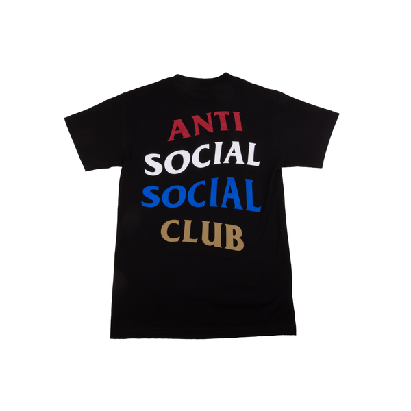 Anti Social Social Club Black Copy Me Tee