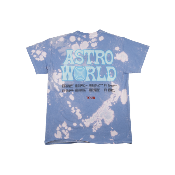 Astroworld Bleach Dye Tee