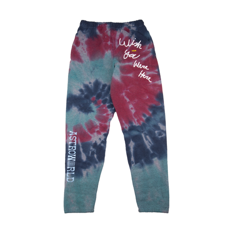 Astroworld Tie Dye Sweats