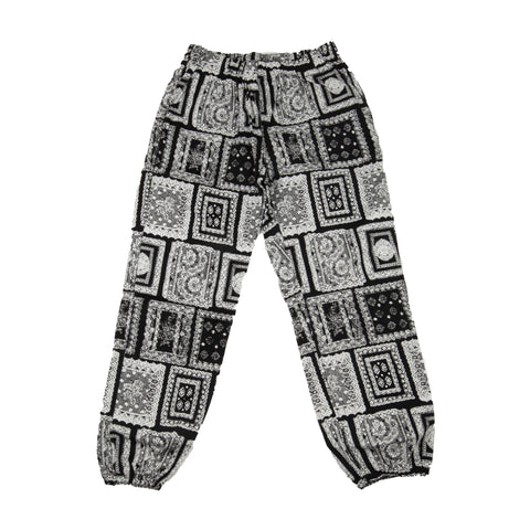 Supreme Black Bandana Pants